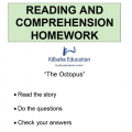 Reading - The Octopus