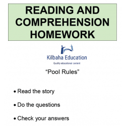 Reading - Pool Rules