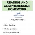 Reading - Slip, slop, slap