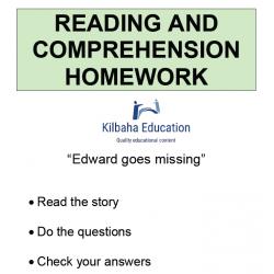 Reading - Edward goes missing