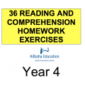 Reading - All Year 4 Homework Exercises