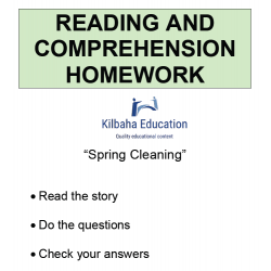 Reading - Spring Cleaning