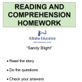 Reading - Sandy Blight