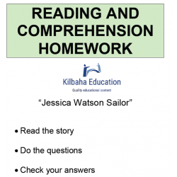Reading - Jessica Watson Sailor