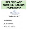 Reading - The Drinking Bird