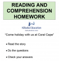 Reading - Come holiday at Coral Cape