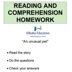 Reading - An unusual pet