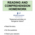 Reading - Activities on Kangaroo Island