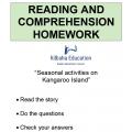 Reading - Activities on Kangaroo Island