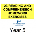 Reading - All Year 5 Homework Exercises