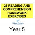 Reading - All Year 5 Homework Exercises