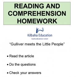 Reading - Gulliver meets the little people