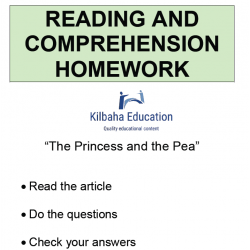 Reading - The princess and the pea