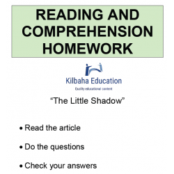 Reading - The Little Shadow