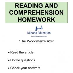 Reading - The Woodman's Axe