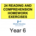 Reading - All Year 6 Homework Exercises