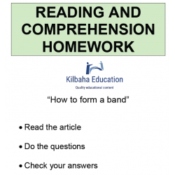 Reading - How to form a band