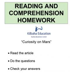 Reading - Curiosity on Mars