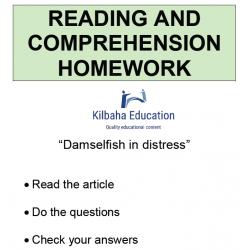 Reading - Damselfish in distress