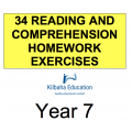 Reading - All Year 7 Homework Exercises