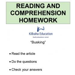 Reading - Busking
