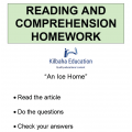 Reading - An ice home