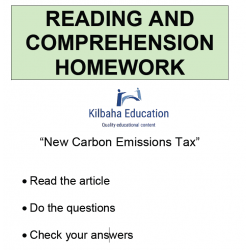 Reading - Carbon Emissions Tax