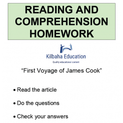 Reading - First voyage of James Cook