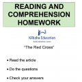 Reading - The Red Cross
