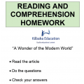 Reading - A wonder of the modern world