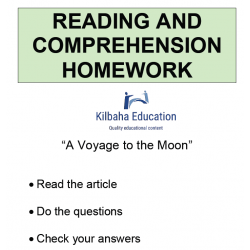 Reading - A voyage to the moon
