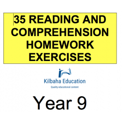 Reading - All Year 9 Homework Exercises