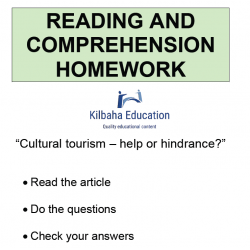 Reading - Cultural tourism - help or hindrance