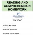 Reading - Star Wars