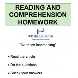 Reading - No more boomerang