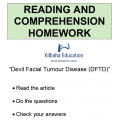 Reading - DFTD