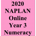 2020 Kilbaha Interactive NAPLAN Trial Test - Numeracy - Year 3