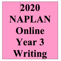 2020 Kilbaha Interactive NAPLAN Trial Test Writing Year 3