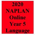 2020 Kilbaha Interactive NAPLAN Trial Test Language Year 5