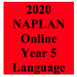 2020 Kilbaha Interactive NAPLAN Trial Test Language Year 5