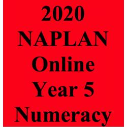 2020 Kilbaha Interactive NAPLAN Trial Test Numeracy Year 5