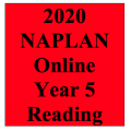 2020 Kilbaha Interactive NAPLAN Trial Test Reading Year 5