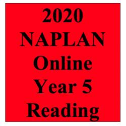 2020 Kilbaha Interactive NAPLAN Trial Test Reading Year 5