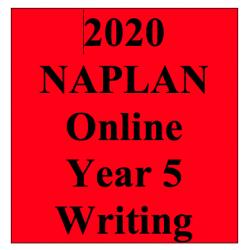 2020 Kilbaha Interactive NAPLAN Trial Test Writing Year 5