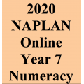 2020 Kilbaha Interactive NAPLAN Trial Test Numeracy Year 7