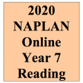 2020 Kilbaha Interactive NAPLAN Trial Test Reading Year 7