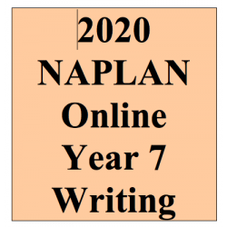 2020 Kilbaha Interactive NAPLAN Trial Test Writing Year 7