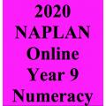 2020 Kilbaha Interactive NAPLAN Trial Test - Numeracy - Year 9