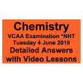 2019 VCAA Northern Hemisphere Timetable VCE Chemistry - Detailed Answers