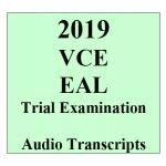 2019 Kilbaha VCE EAL Trial Examination